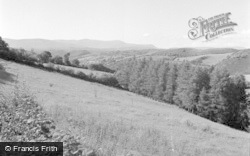 Machynlleth, Cader Idris From The Mountain Road 1955