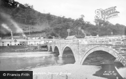 Machynlleth, Dovey Bridge c.1939