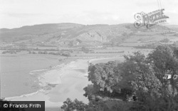 Machynlleth, From The Aberdovey Road 1955
