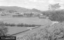 Machynlleth, General View 1956