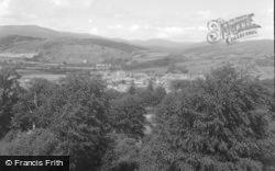Machynlleth, General View 1956