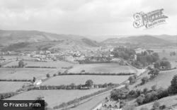 Machynlleth, General View 1960