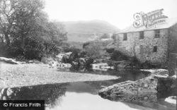Machynlleth, Melingerreg River 1896