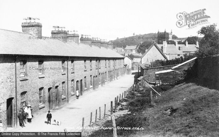 Photo of Machynlleth, Poplar Terrace 1899