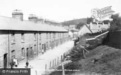Machynlleth, Poplar Terrace 1899