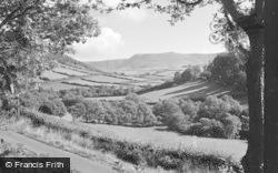 Machynlleth, Rhos-Y-Garreg Rocks 1955