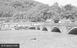 Machynlleth, River Dovey 1968