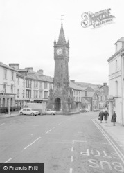 Machynlleth, The Clock Tower 1968