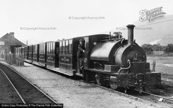 Photo of Machynlleth, The Corris Railway 1899