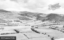 Machynlleth, The Dovey Valley c.1960