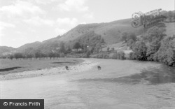 Machynlleth, The River 1956