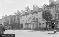 Machynlleth, Wynnstay Arms Hotel 1956