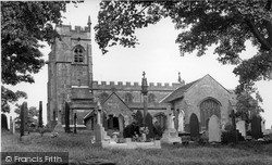 Madeley, All Saints Church c.1955