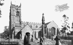 Madeley, All Saints Church c.1965