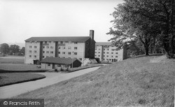 Madeley, College Flats c.1965