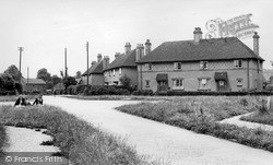 Madeley, Knightly Council Houses c.1955
