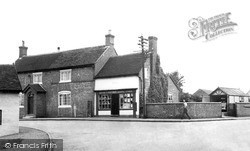 Madeley, Post Office c.1955