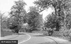 Madeley, Smithy Corner c.1965
