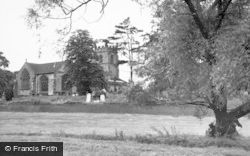 Madeley, The Church c.1955