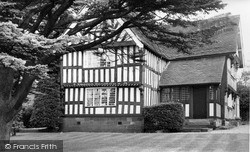 Madeley, The Old Hall c.1955