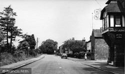 Madeley, The Village c.1955