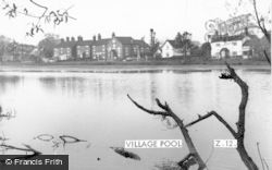 Madeley, Village Pool c.1965
