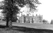 Madingley, Madingely Hall c1955
