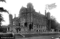 Madingley, Madingley Hall 1923