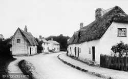 Madingley, Village 1909