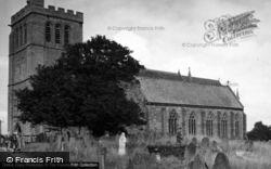 Madley, Church c.1950