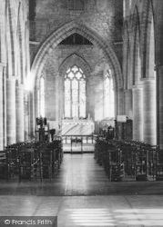 Madley, Church Of The Blessed Virgin Mary, Interior c.1960