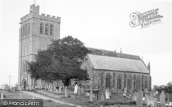 Madley, Church Of The Nativity Of The Blessed Virgin Mary c.1955