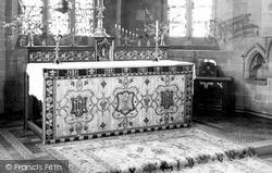 Madley, The Altar, Church Of The Nativity c.1955