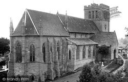 Madley, The Church From The Vicarage c.1955