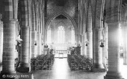 Madley, The Church, Interior c.1955