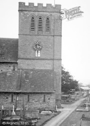 Madley, The Church Tower c.1955