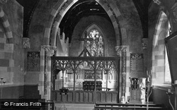 Church Interior c.1870, Madresfield
