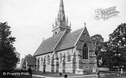 Church Of St Mary The Virgin c.1870, Madresfield