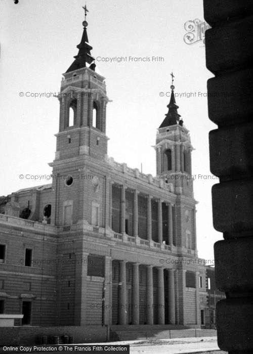 Photo of Madrid, Cathedral Of Nuestra Senora De La Almundena 1960