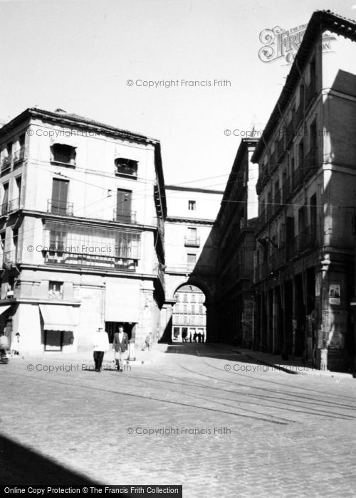 Photo of Madrid, Entrance To Plaza Mayor 1960