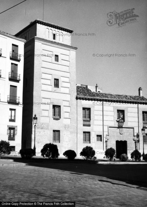 Photo of Madrid, Plaza De La Villa 1960