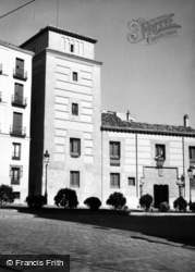 Madrid, Plaza De La Villa 1960