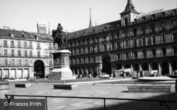 Madrid, Plaza Mayor 1960
