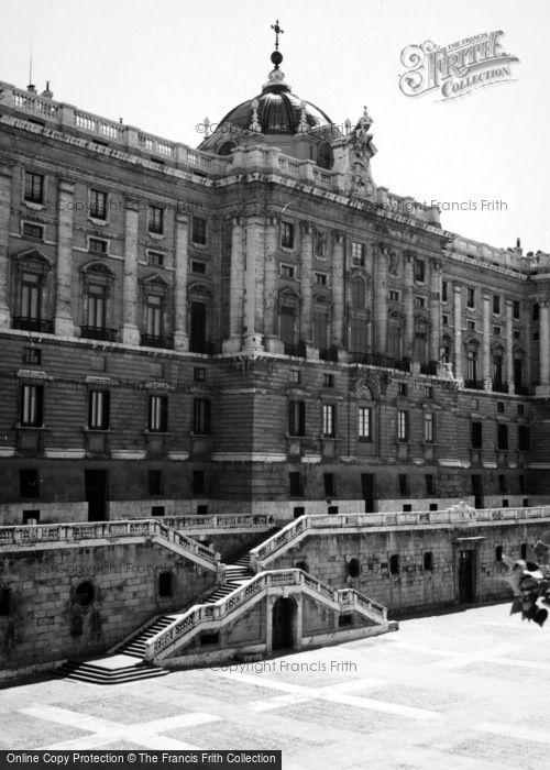 Photo of Madrid, Royal Palace 1960