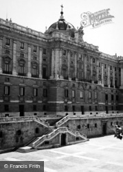 Madrid, Royal Palace 1960