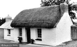 Maenclochog, Penrhos, The Only Thatched Cottage In Pembrokeshire c.1960