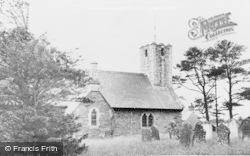 Maenclochog, St Mary's Church c.1955