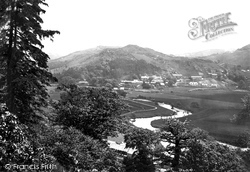 Maentwrog, From The River Dwyryd 1889