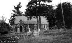 St Catherine's Church c.1960, Maerdy