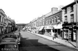 Maesteg, Commercial Street c.1965